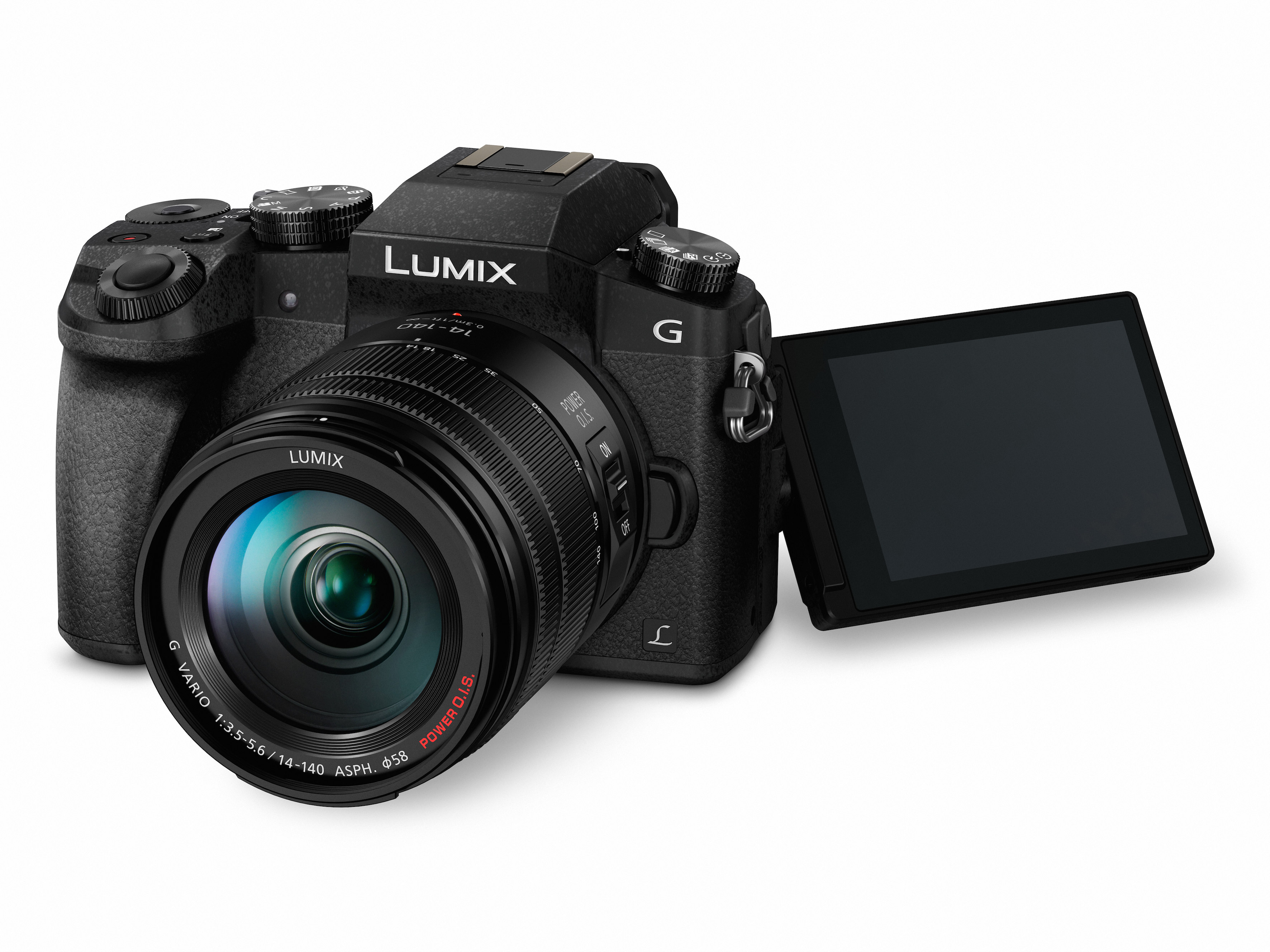 Panasonic: Lumix G70 macht 30 Fotos mit 8 Megapixeln pro Sekunde - Panasonic Lumix DMC-G70 (Bild: Panasonic)