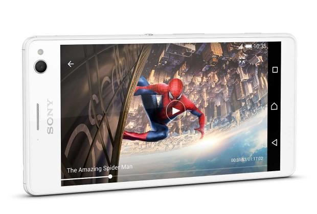Sonys neues Android-Smartphone Xperia C4 (Bild: Sony)