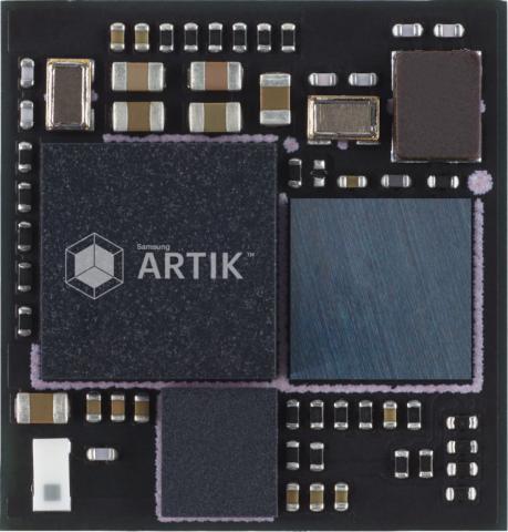Artik-1-Modul (Bilder: Samsung)
