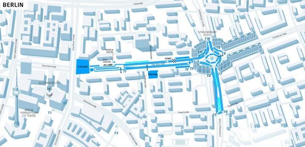 So soll die Berliner E-Prix-Strecke 2016 aussehen. (Bild: FEH)