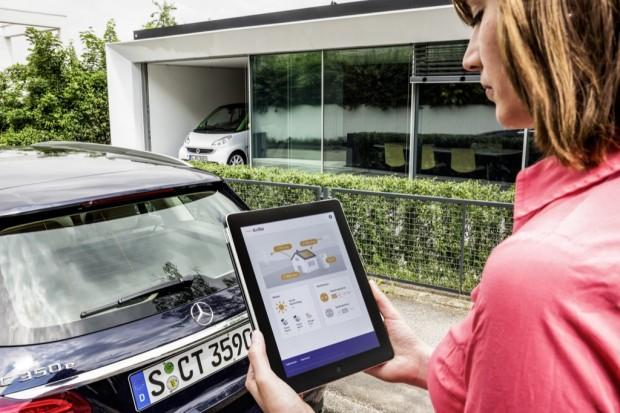 Mercedes-Benz-Energiespeicher eignen sich für die private Nutzung zur Zwischenspeicherung von überschüssigem Strom. (Bild: Daimler)