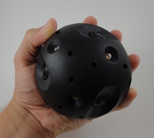 Die Ballkamera Explorer von Bounce Imaging (Bild: Bounce Imaging)
