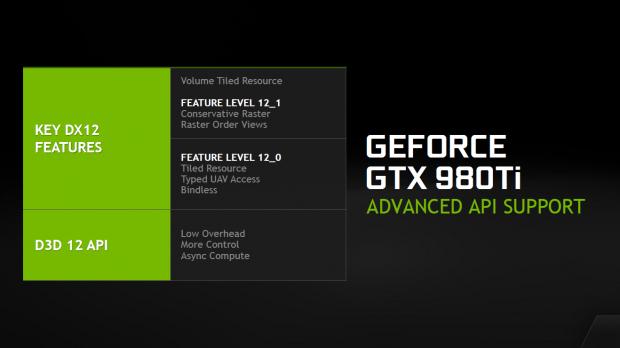 D3D12 bietet vorgeschriebene und optionale Möglichkeiten, AMD wie Nvidia bieten beide teils mehr, als 12_1 fordert. (Bild: Nvidia)