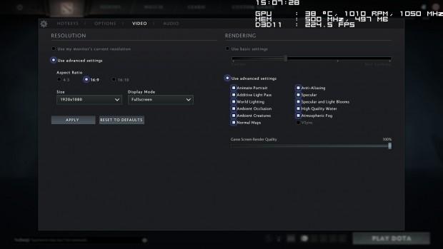 Dota-2-Reborn-Beta mit Source-2-Engine und D3D11 (Screenshot: Golem.de)