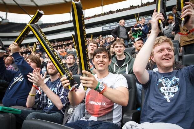 Die Fans jubelten, ... (Bild: Adela Sznajder/ESL)