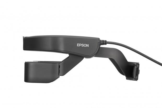 Epsons neue AR-Brille Moverio Pro BT-2000 (Bild: Epson)