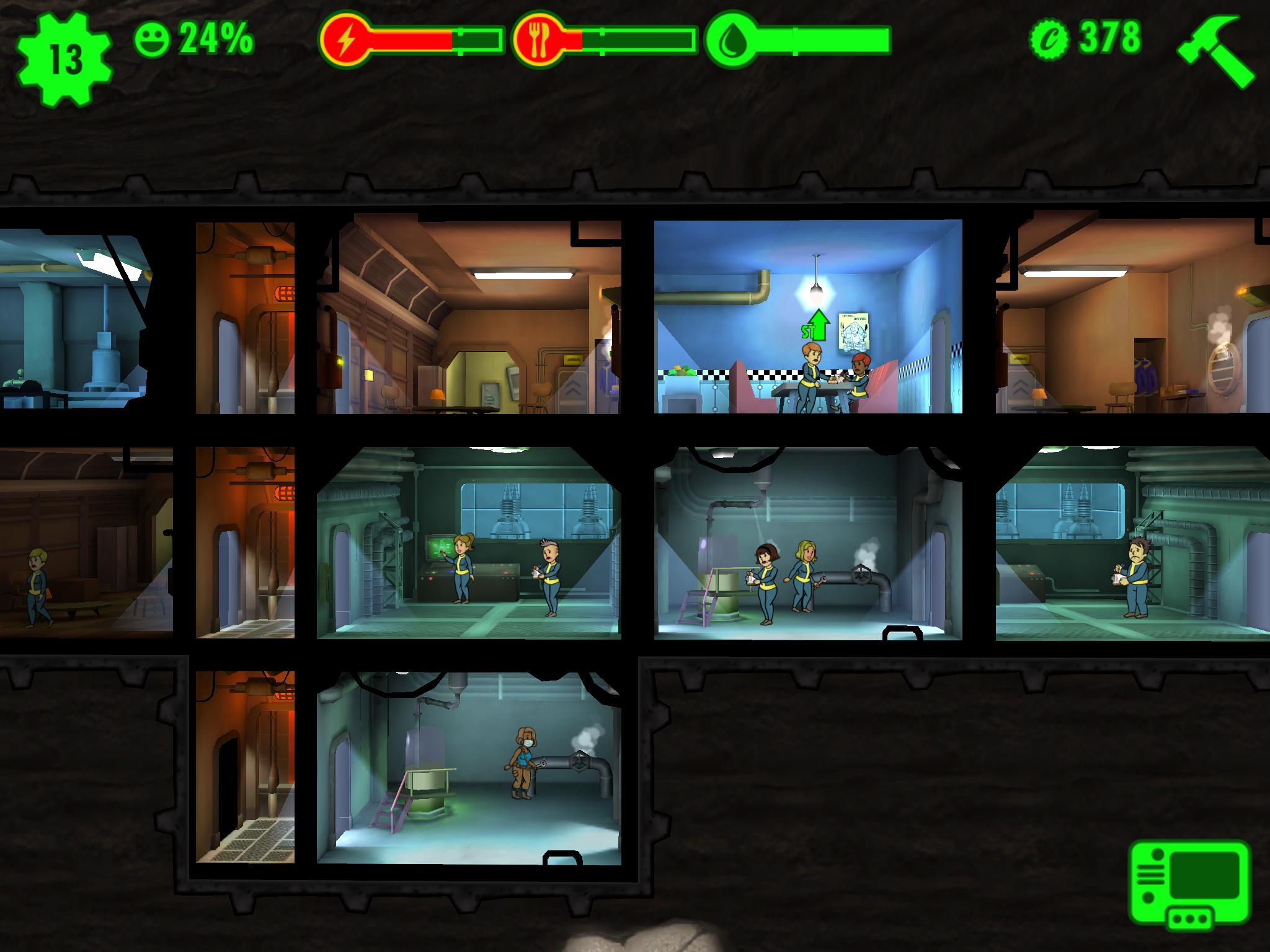 Fallout Shelter Im Test Fallout Lädt Zum Bunker Bau Screenshots