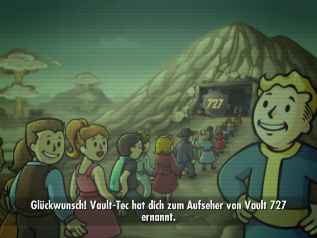 Fallout Shelter (Screenshot: Thorsten Wiesner)