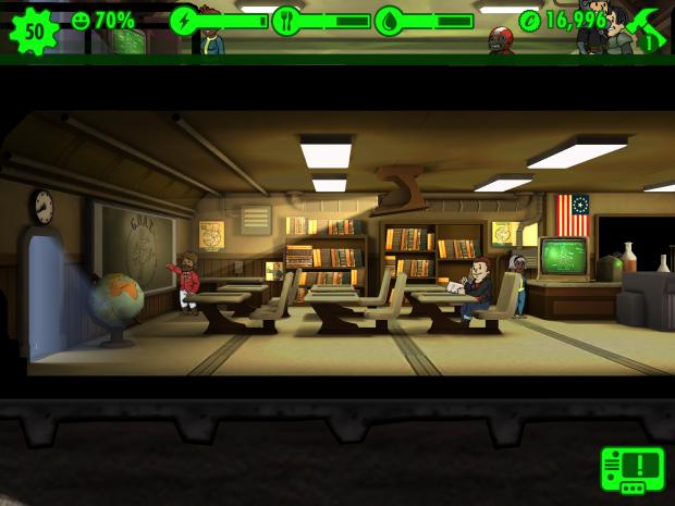 Fallout Shelter (Bild: Bethesda Softworks)