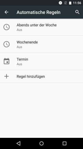 Die Nicht-stören-Funktion erhält mit Android M Profile. (Screenshot: Golem.de)