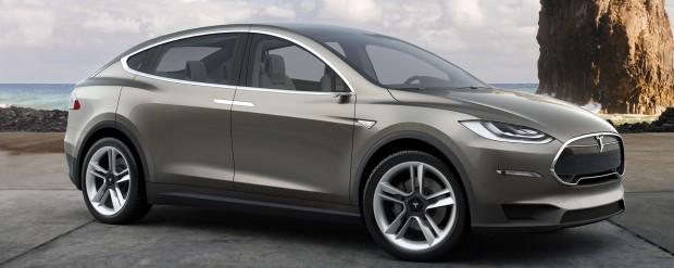 Model X (Bild: Tesla Motors)