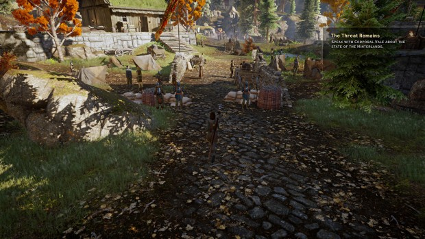 Benchmark-Szene Dragon Age Inquisition (Screenshot: Golem.de)