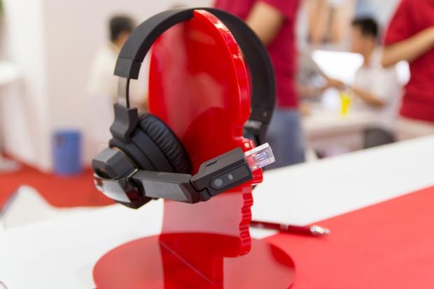Die SiME Smart Headphones von Chipsip (Bild: Tobias Költzsch/Golem.de)