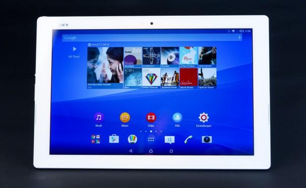 Das neue Xperia Z4 Tablet von Sony (Bild: Martin Wolf/Golem.de)