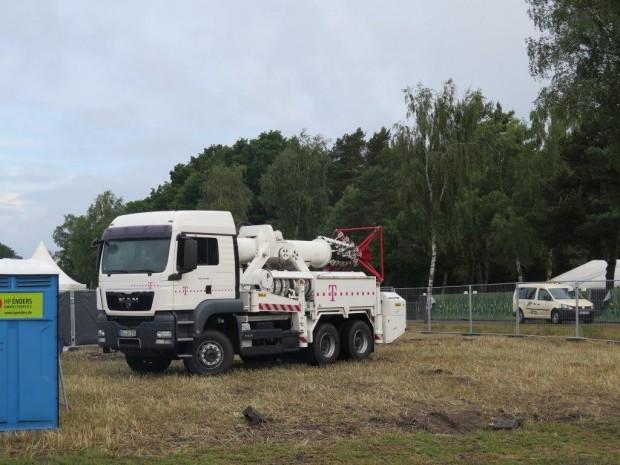 Truck auf dem Festival. (Bild: Deutsche Telekom)