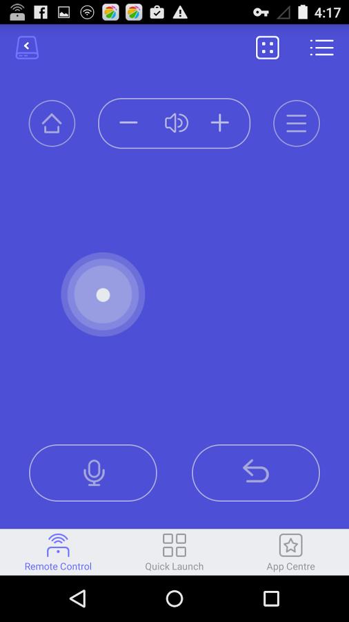 Wukong TV Remote Control: Virtuelle Maus und App-Starter für Fire TV - Wukong TV Remote Control - Touchpad-Bedienung (Bild: Wukong)