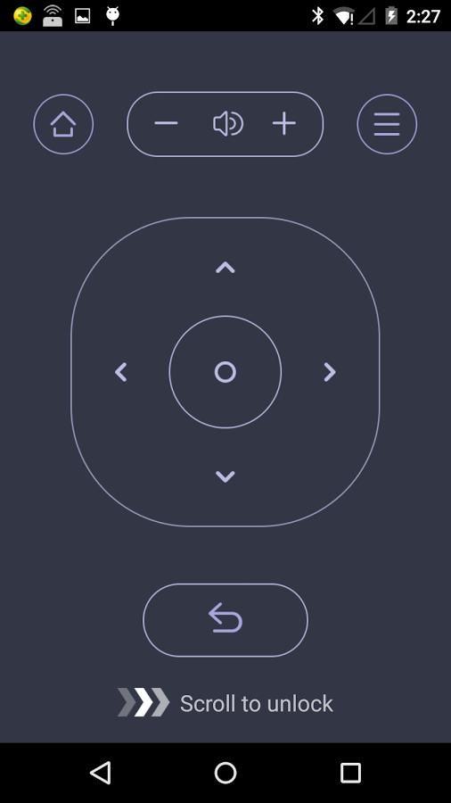 Wukong TV Remote Control: Virtuelle Maus und App-Starter für Fire TV - Sperrbildschirm von Wukong TV Remote Control (Bild: Wukong)