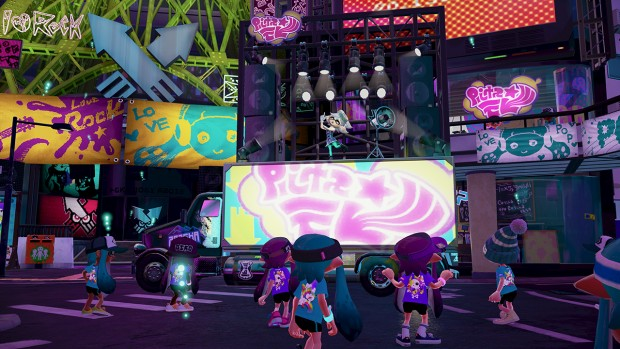Splatoon (Screenshot: Nintendo)