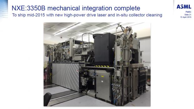 Eine EUV-Belichtungsmaschine des Typs NXE:3350B (Bild: ASML)