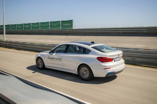 BMW 5er Gran Turismo mit Wasserstoffbrennstoffzelle (Bild: BMW)