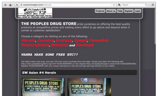 ... wird hauptsächlich mit Cannabis gehandelt. (Bild: Trend Micro)