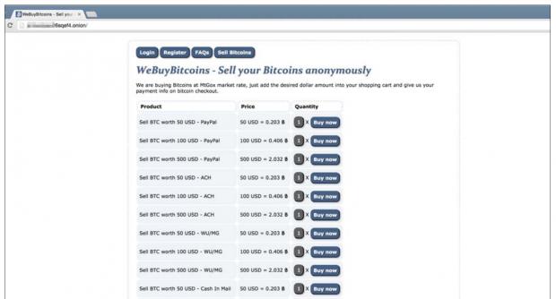 Auch Geldwäsche von Kryptowährungen wird dort betrieben. (Bild: Trend Micro)