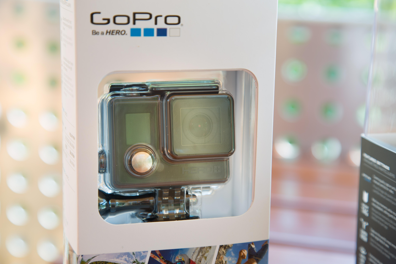 Hero 4 Session ausprobiert: Gopros neuer Zauberwürfel - Die Gopro Hero+ LCD erweitert das Einstiegssortiment. (Bild: Martin Wolf/Golem.de)