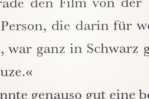 Das Schriftbild des neuen Kindle Paperwhite (Bild: Martin Wolf/Golem.de)