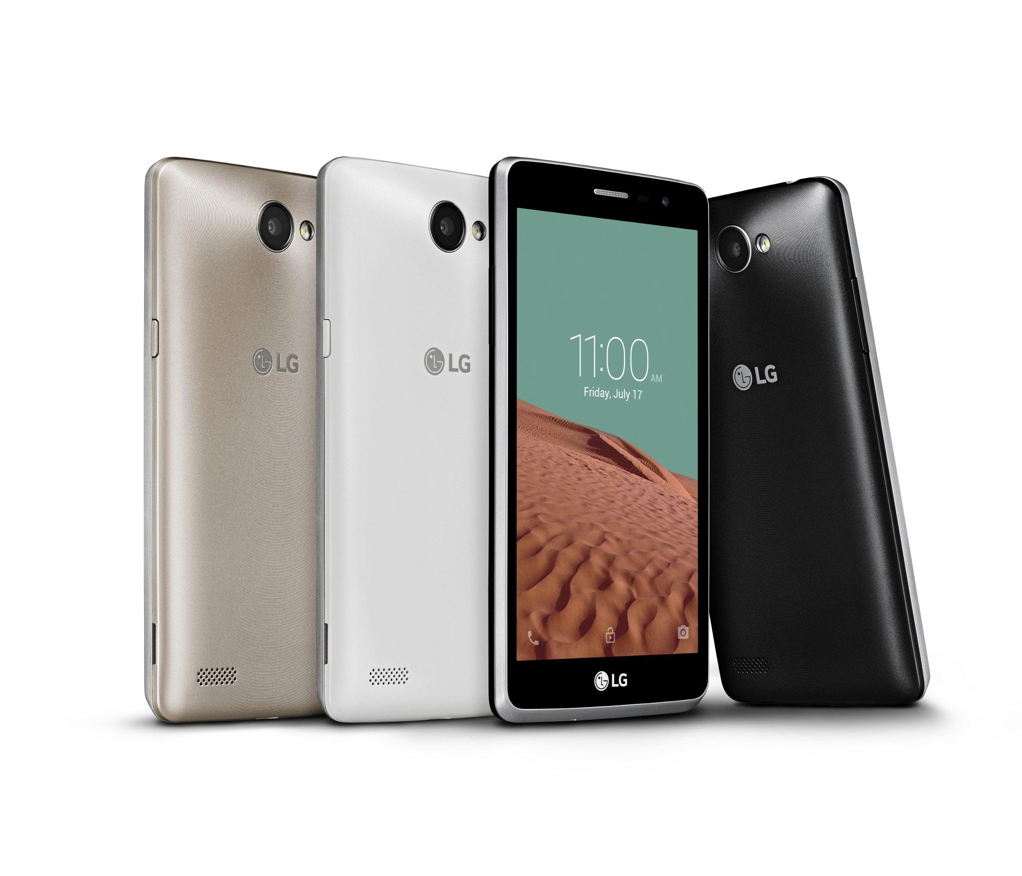 Bello II: LG stellt neues Einsteiger-Smartphone für 150 Euro vor - Das neue LG Bello II (Bild: LG)