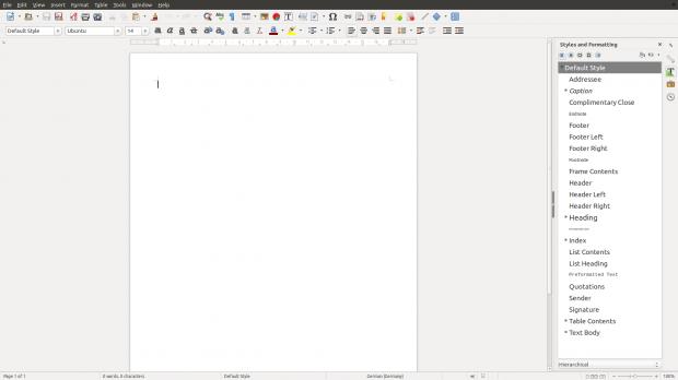 Die Formatvorlagen zeigen das entsprechende Schriftbild als Vorschau an. (Screenshot: Golem.de)