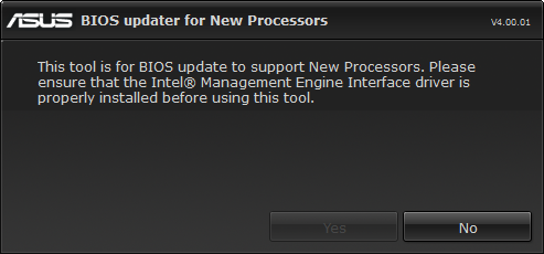 Ohne korrekt installierten Management-Engine-Interface-Treiber kein UEFI-Update (Screenshot: Golem.de)