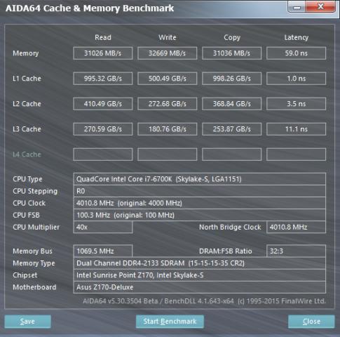 Intel hat den L2- und L3-Cache bei Skylake drastisch beschleunigt. (Screenshot: Golem.de)