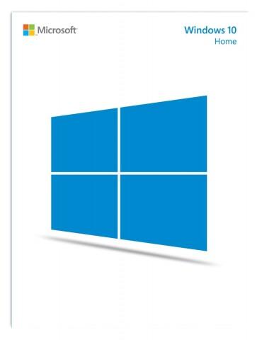 Verkaufsbox von Windows 10 Home (Bild: Microsoft)