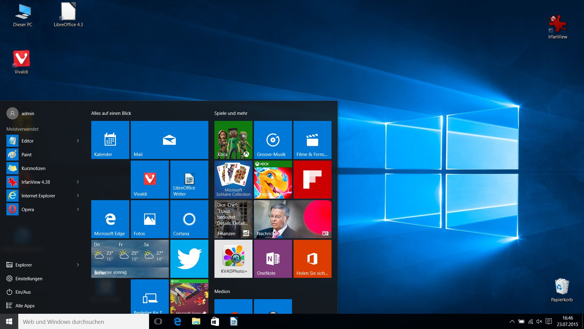 Windows 10 Im Upgrade Test Der Umstieg Von Windows 7 Auf