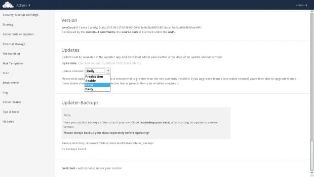 Anwender können nun auf verschiedene Release-Channel zugreifen. (Bild: Owncloud - CC-BY 4.0)