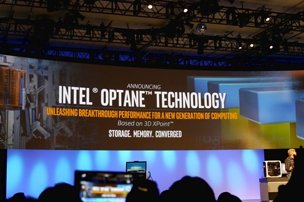 Intel kündigt Optane auf Basis von 3D Xpoint an (Foto: Marc Sauter/Golem.de)