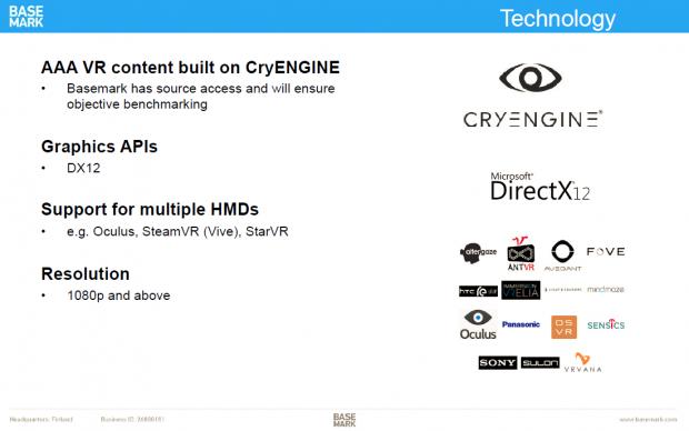 Neuer VR-Benchmark in Entwicklung (Bild: Basemark)