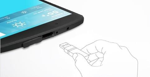 lg g pad ii 8 0 android tablet mit normalem usb anschluss und d nnem stylus. Black Bedroom Furniture Sets. Home Design Ideas