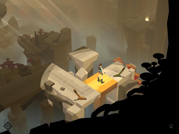 Lara Go (Screenshot: Golem.de)