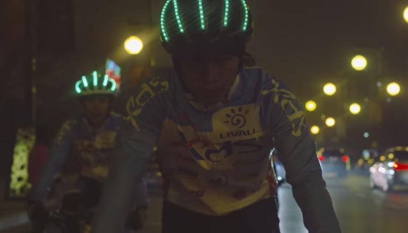 Livall: Der Fahrradhelm wird smart - Livall-Helm (Bild: Indiegogo)