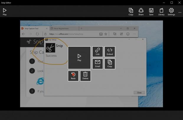 Microsoft Snip (Screenshot: Golem.de)