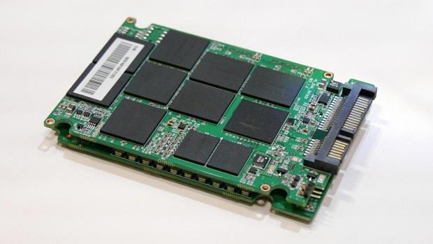 Der Prototyp einer Scalar-SSD von Novachips weist eine Kapazität von 16 TByte auf (Foto: Marc Sauter/Golem.de)