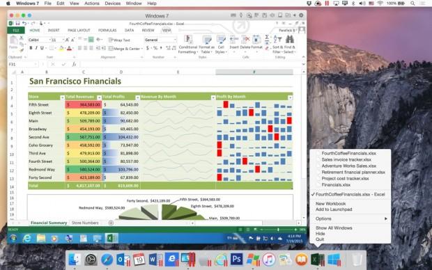 Parallels  Desktop 11 (Bild: Parallels)