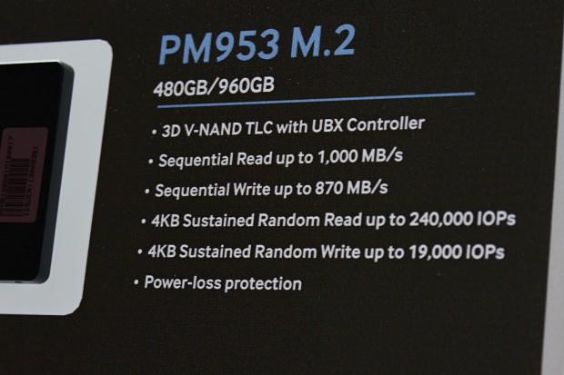 Samsung PM953 (Foto: Marc Sauter/Golem.de)