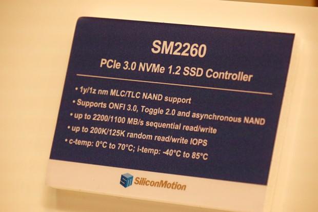 Details zu Silicon Motions neuem NVMe-Controller (Foto: Marc Sauter/Golem.de)
