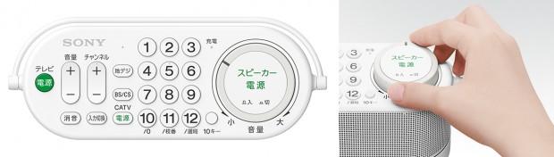 Sonys Lautsprecher-Fernbedienung SRS-LRS100 (Bild: Sony)