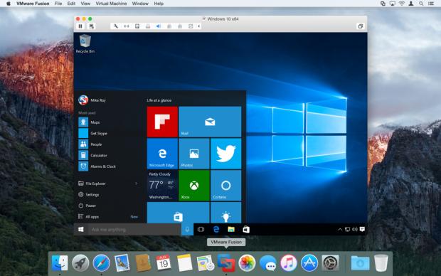 VMware Fusion 8 (Bild: VMWare)