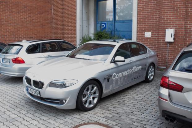 In München testete Golem.de einen Prototypen von BMW und fuhr damit hochautomatisiert über die Autobahn zum Flughafen. (Foto: Friedhelm Greis/Golem.de)