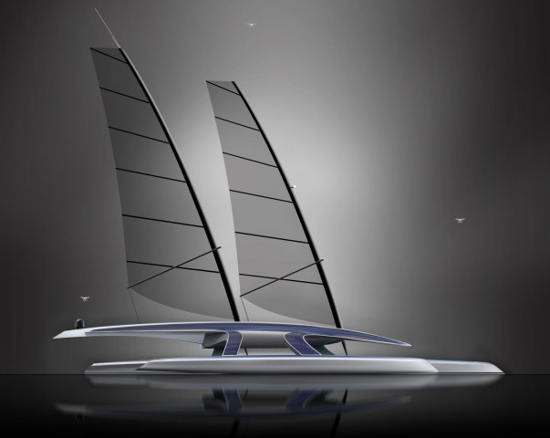 Das Mayflower Autonomous Research Ship ist ein autonomer Trimaran. (Bild: Shuttleworth)