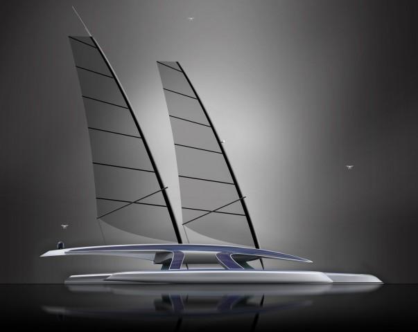 Das Mayflower Autonomous Research Ship ist ein autonomer Trimaran. (Bild: Shuttleworth)